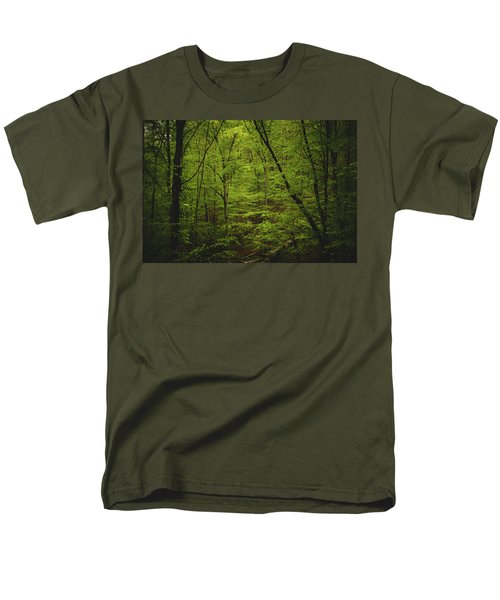 Men's T-Shirt  (Regular Fit) featuring the photograph Forest Beckons by Shane Holsclaw
