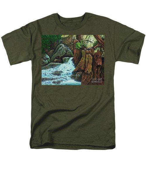 Forest Brook IIi Men's T-Shirt  (Regular Fit) by Michael Frank
