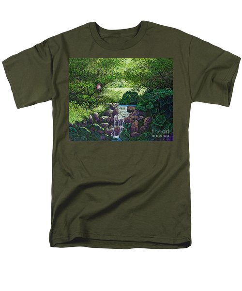 Forest Brook Iv Men's T-Shirt  (Regular Fit) by Michael Frank