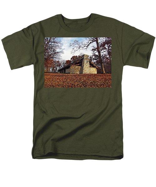 Forest Field House 3 Men's T-Shirt  (Regular Fit) by Cedric Hampton