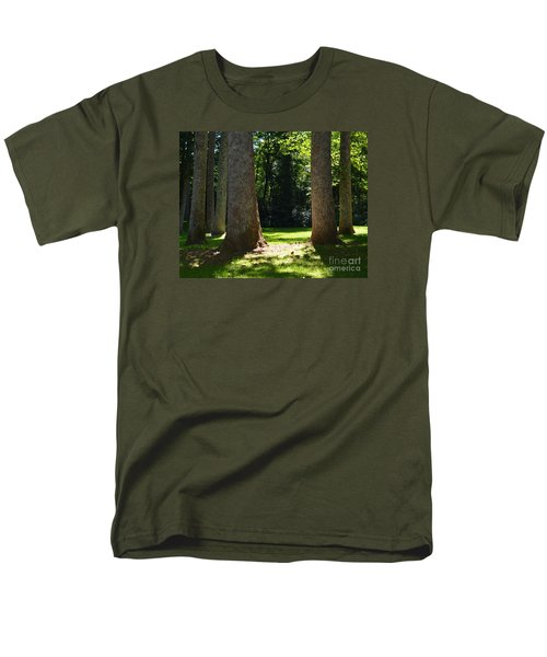 Forest Glen Men's T-Shirt  (Regular Fit) by Lew Davis