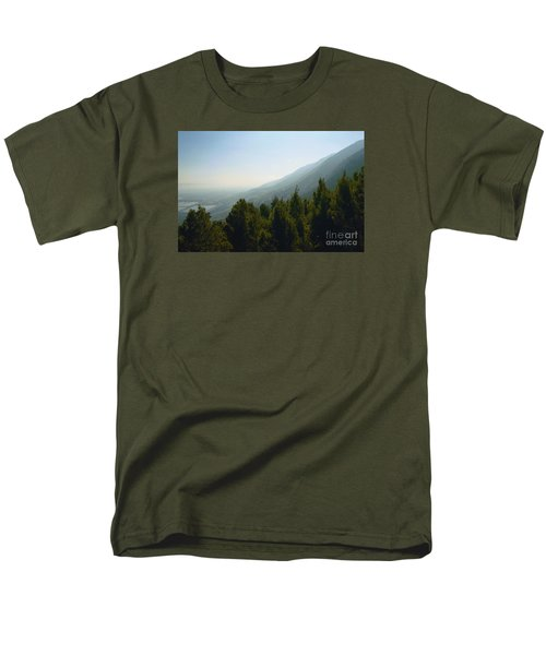 Forest In Israel Men's T-Shirt  (Regular Fit) by Gail Kent