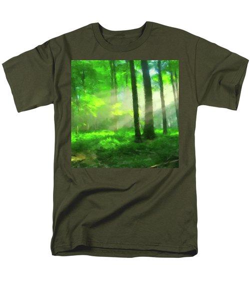 Forest Sunlight Men's T-Shirt  (Regular Fit)