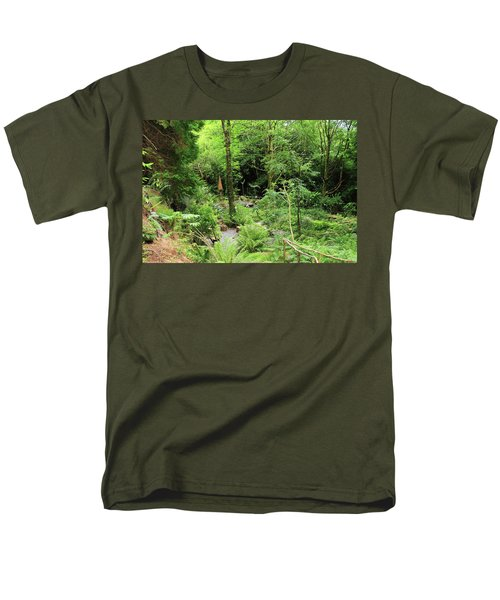Forest Walk Men's T-Shirt  (Regular Fit) by Aidan Moran