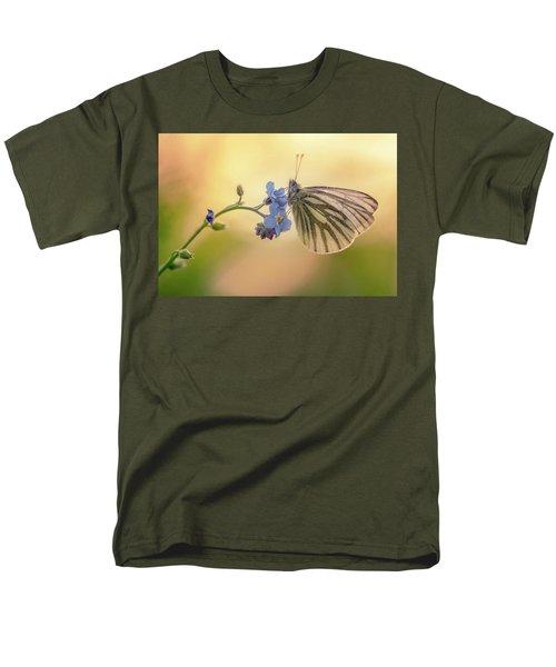 Forget Me Not Men's T-Shirt  (Regular Fit) by Jaroslaw Blaminsky