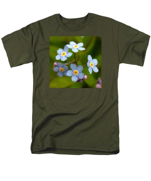 Forget-me-not Men's T-Shirt  (Regular Fit) by Jouko Lehto