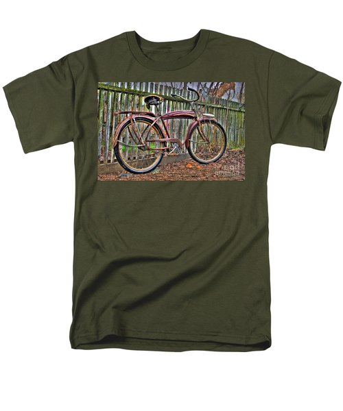 Men's T-Shirt  (Regular Fit) featuring the photograph Forgotten Ride 1 by Jim and Emily Bush