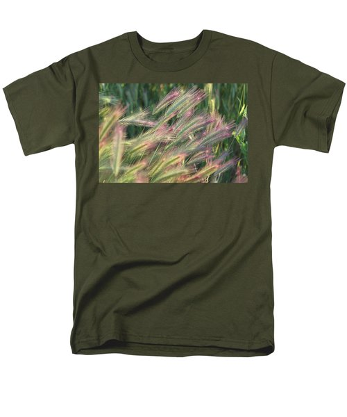 Foxtails In Spring Men's T-Shirt  (Regular Fit) by Michele Myers