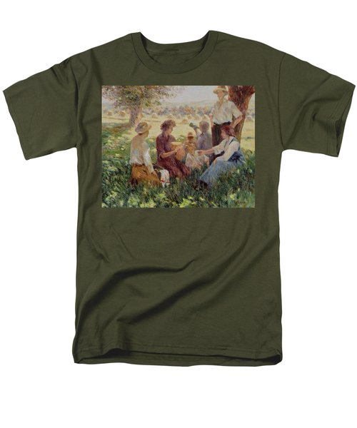 France Country Life  Men's T-Shirt  (Regular Fit) by Pierre Van Dijk