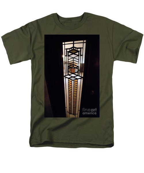 Frederick Robie House - 3 Men's T-Shirt  (Regular Fit) by David Bearden