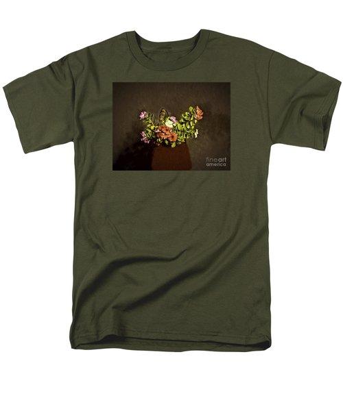 Men's T-Shirt  (Regular Fit) featuring the photograph Fresh Flowers  ... by Chuck Caramella