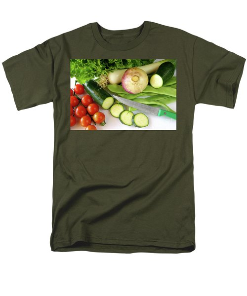 Fresh Vegetables Men's T-Shirt  (Regular Fit) by Carlos Caetano