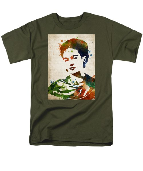 Frida Kahlo Men's T-Shirt  (Regular Fit) by Mihaela Pater