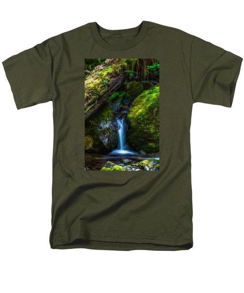 From Between Men's T-Shirt  (Regular Fit) by James Heckt