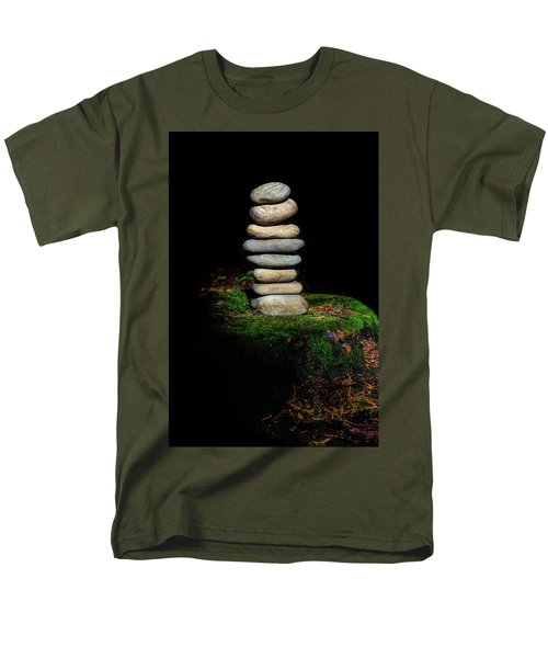 Men's T-Shirt  (Regular Fit) featuring the photograph From The Shadows by Marco Oliveira