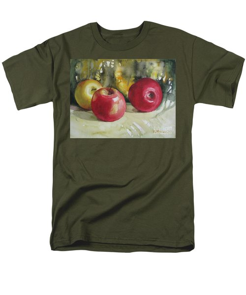 Men's T-Shirt  (Regular Fit) featuring the painting Fruits Of The Earth by Elena Oleniuc