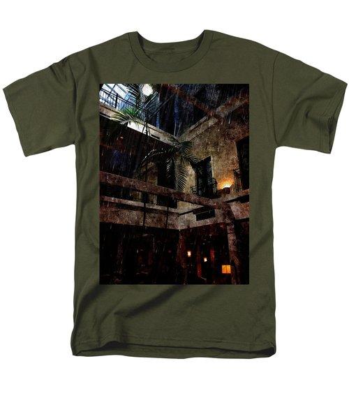 Full Moon At Tremont Toujouse Bar Men's T-Shirt  (Regular Fit) by Karl Reid
