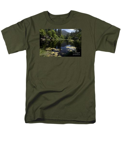 Fulmor Lake Men's T-Shirt  (Regular Fit) by Ivete Basso Photography