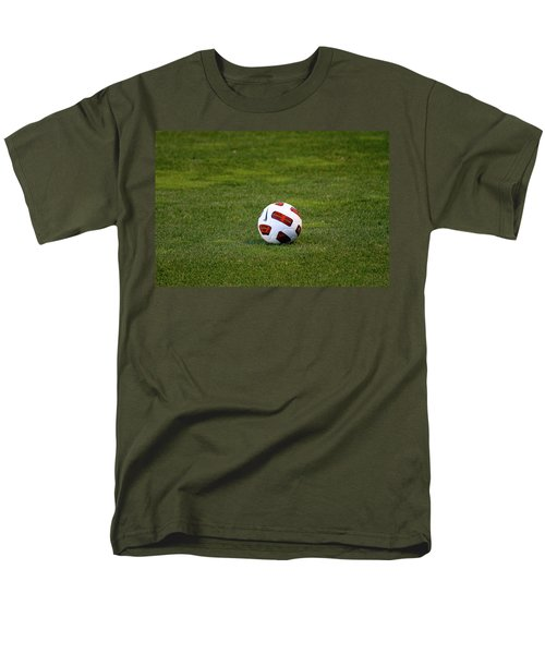 Men's T-Shirt  (Regular Fit) featuring the photograph Futbol by Laddie Halupa