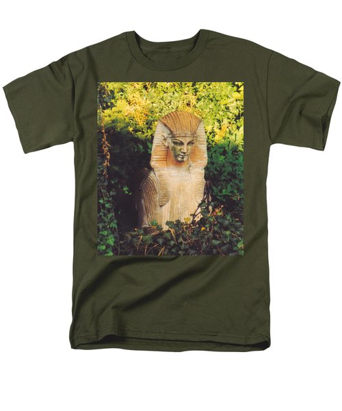 Garden Guardian Men's T-Shirt  (Regular Fit) by Jan Amiss Photography