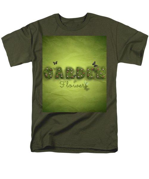 Garden Men's T-Shirt  (Regular Fit) by La Reve Design