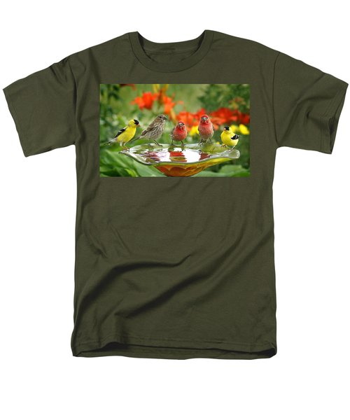 Garden Party Men's T-Shirt  (Regular Fit)