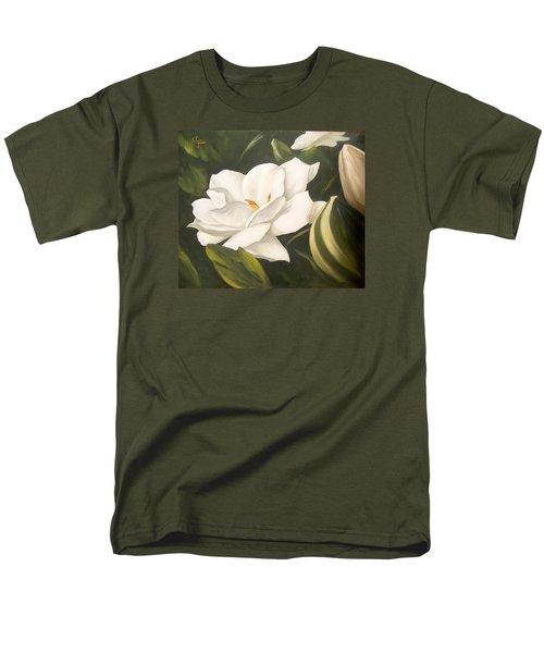 Gardenia Men's T-Shirt  (Regular Fit)