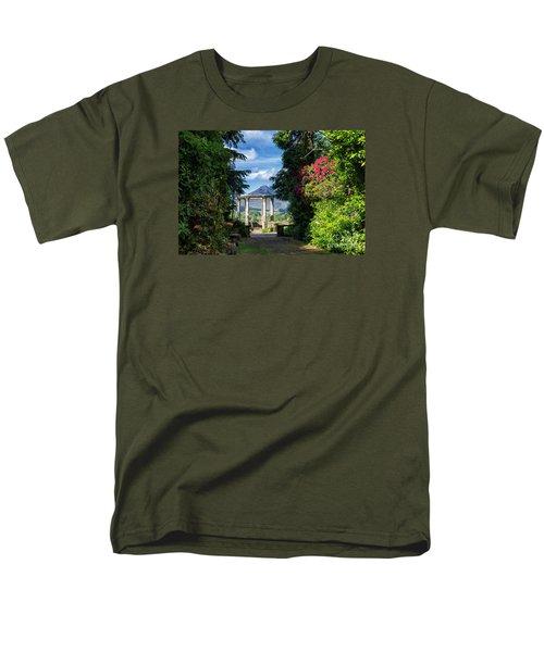 Men's T-Shirt  (Regular Fit) featuring the photograph Garinish Island by Juergen Klust
