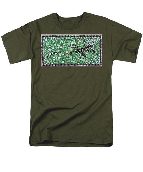 Men's T-Shirt  (Regular Fit) featuring the ceramic art Gecko by Jamie Frier