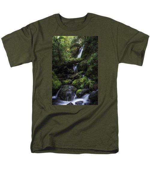 Gentle Cuts Men's T-Shirt  (Regular Fit) by James Heckt
