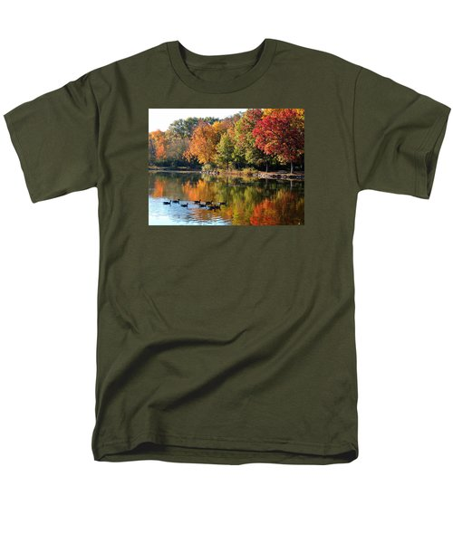 Men's T-Shirt  (Regular Fit) featuring the photograph Gentle Reflections by Teresa Schomig