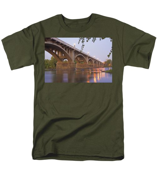 Gervais Bridge Men's T-Shirt  (Regular Fit) by Steven Richardson