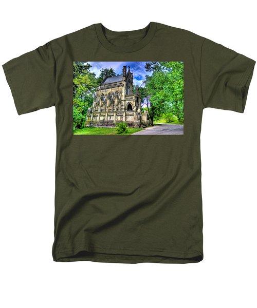 Giant Spring Grove Mausoleum Men's T-Shirt  (Regular Fit) by Jonny D