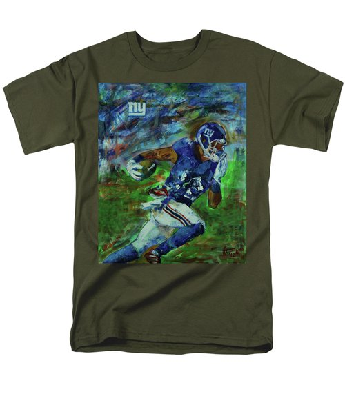 Ny Giants -  Big Blue Men's T-Shirt  (Regular Fit) by Walter Fahmy
