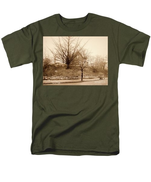 Ginkgo Tree, 1925 Men's T-Shirt  (Regular Fit) by Cole Thompson