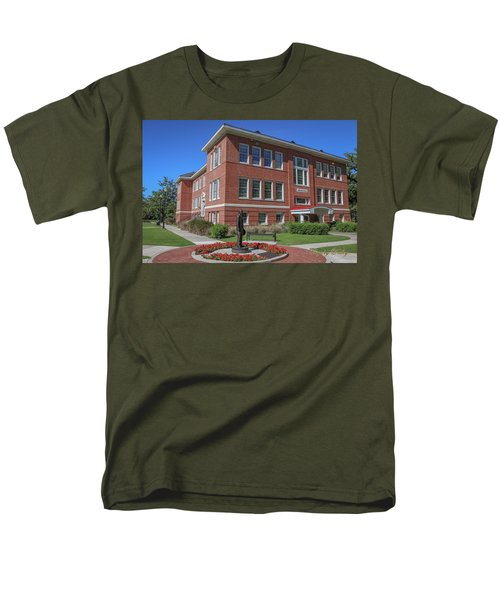 Men's T-Shirt  (Regular Fit) featuring the photograph Girard Hall Day Shot by Gregory Daley  PPSA