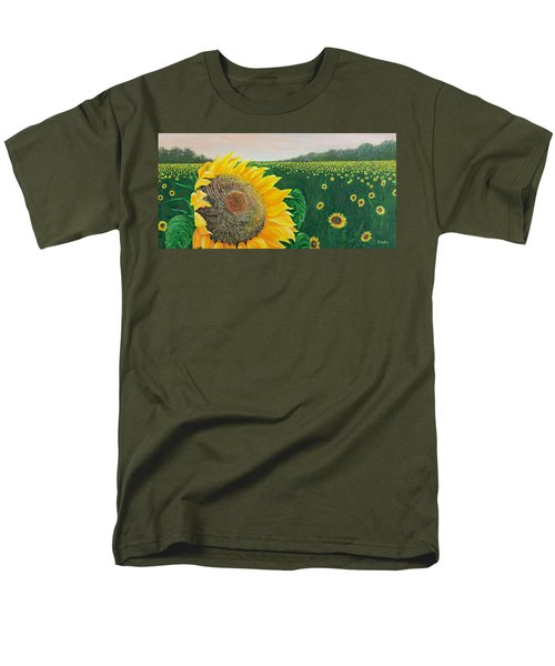 Men's T-Shirt  (Regular Fit) featuring the painting Giver Of Life by Susan DeLain