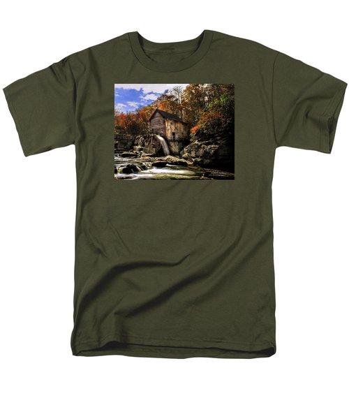 Glade Creek Grist Mill Men's T-Shirt  (Regular Fit)