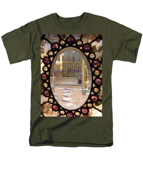 Glass Menagerie Men's T-Shirt  (Regular Fit) by Priscilla Richardson