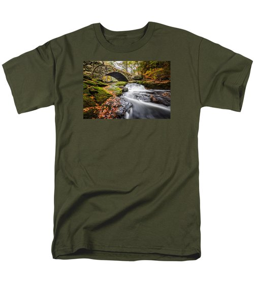 Men's T-Shirt  (Regular Fit) featuring the photograph Gleason Falls by Robert Clifford