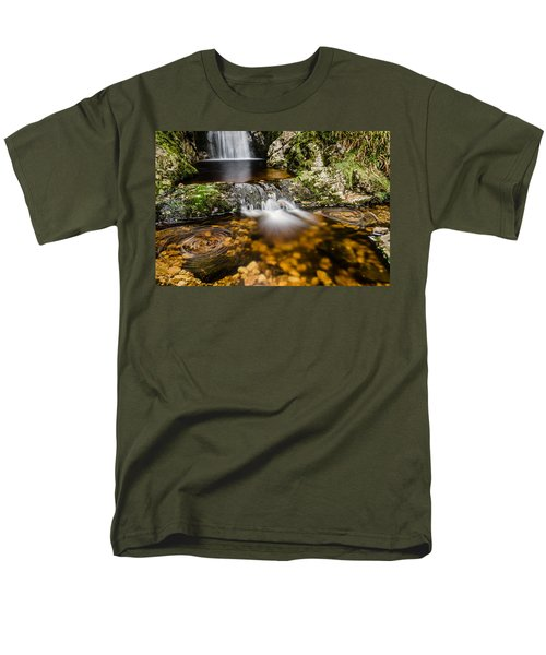 Glenevin Waterfall Clonmany Men's T-Shirt  (Regular Fit) by Martina Fagan