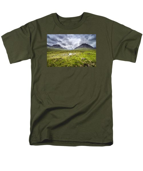 Men's T-Shirt  (Regular Fit) featuring the photograph Glencoe by Jeremy Lavender Photography