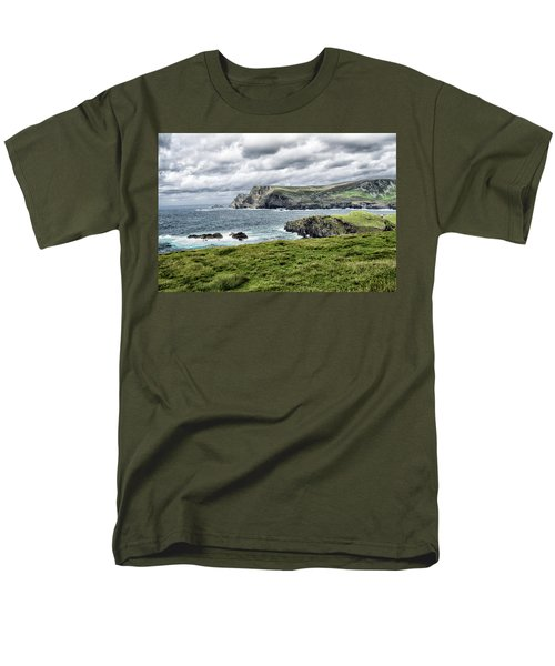 Men's T-Shirt  (Regular Fit) featuring the photograph Glencolmcille by Alan Toepfer