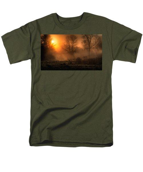 Glowing Sunrise Men's T-Shirt  (Regular Fit) by Everet Regal