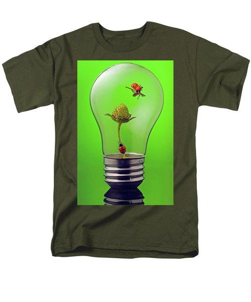 Go Green Men's T-Shirt  (Regular Fit)