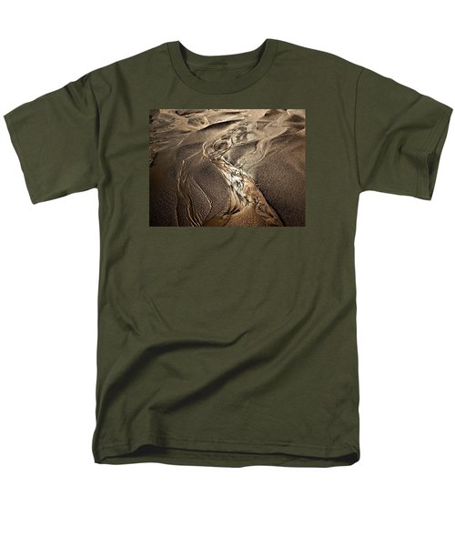 Men's T-Shirt  (Regular Fit) featuring the photograph Go With The Flow by Laura Ragland