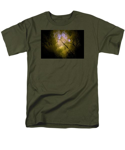 Men's T-Shirt  (Regular Fit) featuring the photograph God Answers by The Art Of Marilyn Ridoutt-Greene
