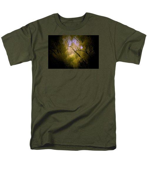 God Answers Men's T-Shirt  (Regular Fit) by The Art Of Marilyn Ridoutt-Greene