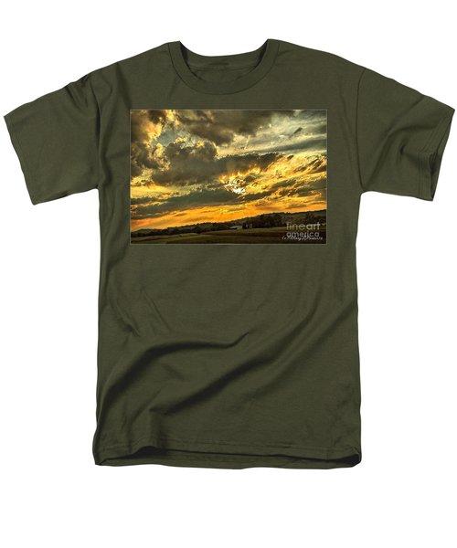 God Hand Men's T-Shirt  (Regular Fit) by MaryLee Parker