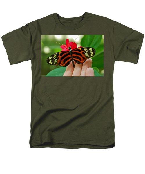 Men's T-Shirt  (Regular Fit) featuring the photograph God's Handiwork by Debbie Karnes
